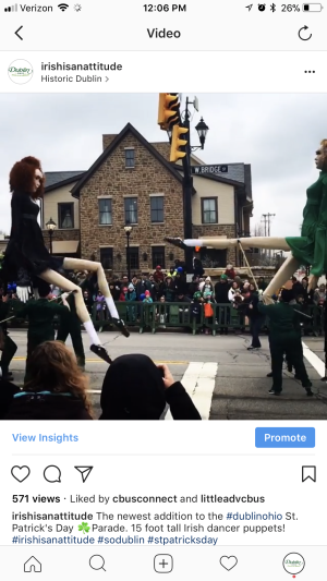 Irish Dancer Puppets Instagram