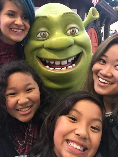 shrek n friends