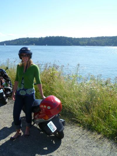 Day Trip: Explore Bainbridge Island via Scooter