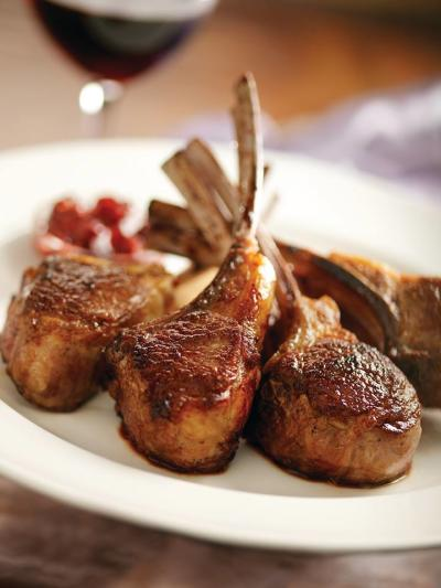 Capital Grille Lamb Chops