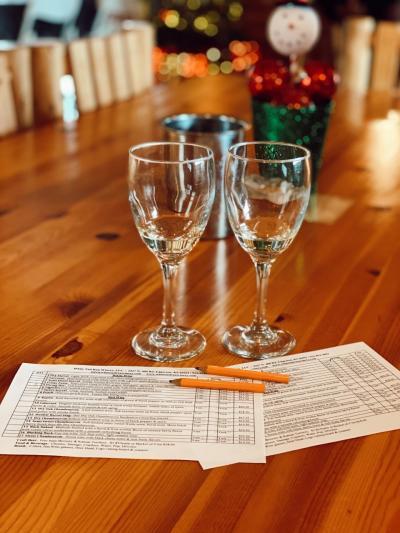 White Tail Run Winery Tasting Card in Edgerton, KS