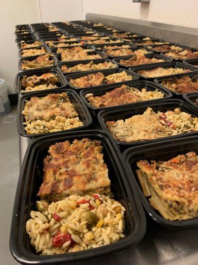 Service! Relief Kitchen