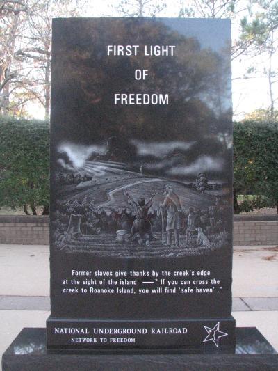 Freedmen's Colony Monument