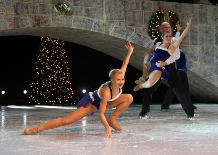 Big Top Tent Christmas on Ice