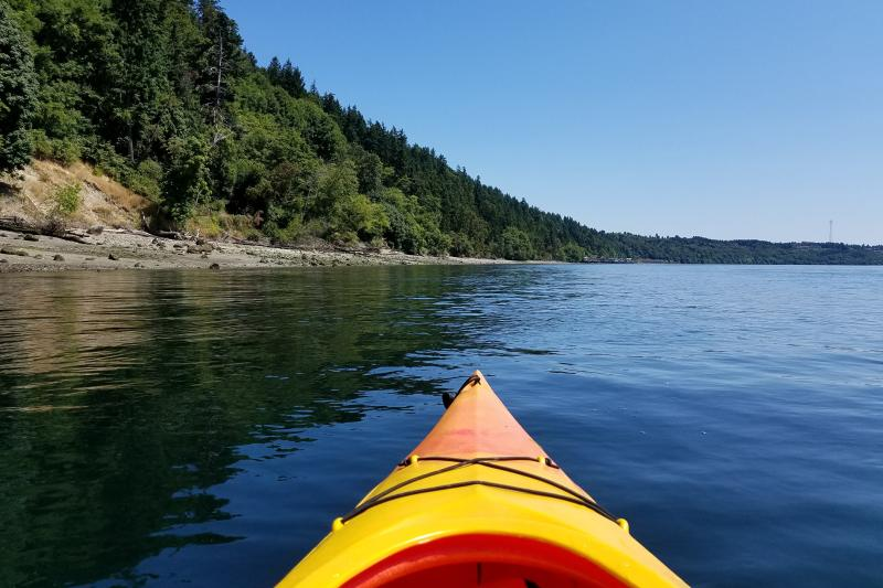Point Defiance kayak
