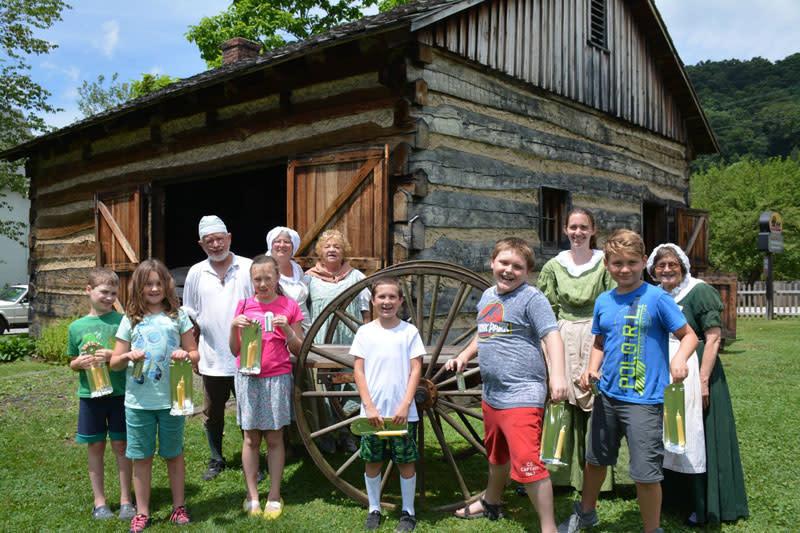 Compasss Inn Museum Stagecoach Adventurers Day Camp