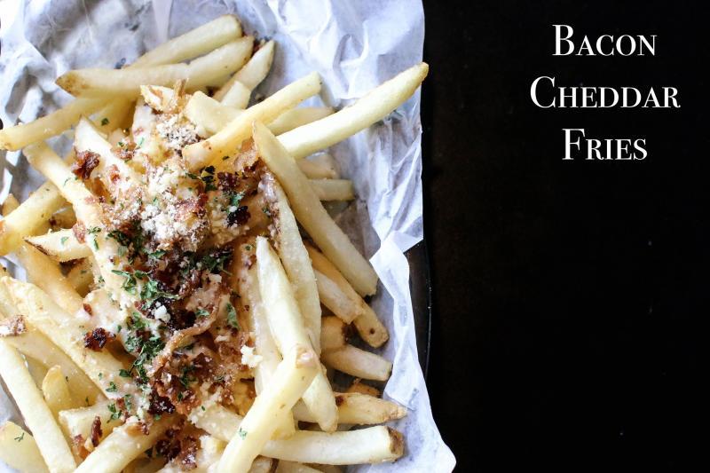 Bacon Cheddar Fries Burger Stand Topeka Kansas