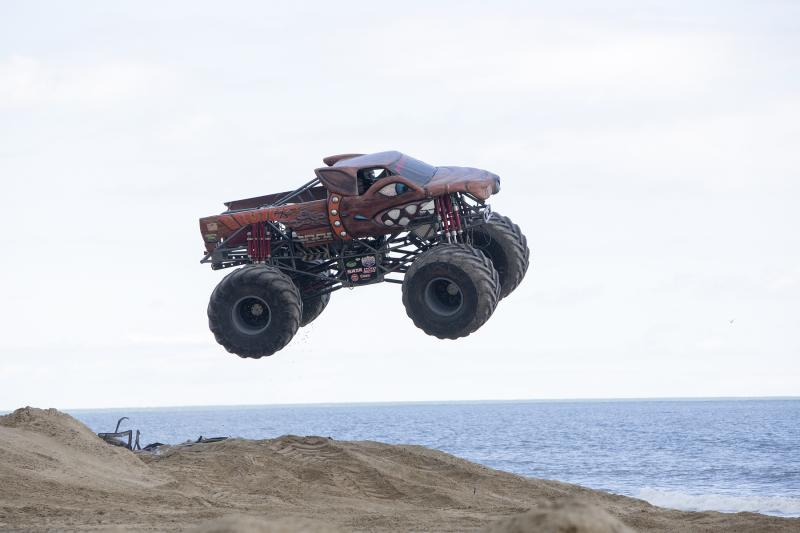 Pungo Offroad Monsters on the Beach