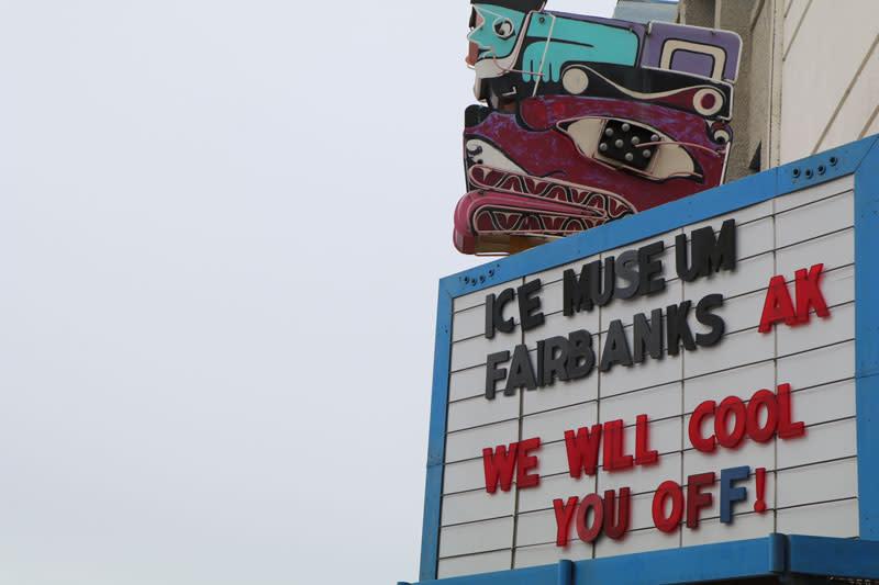Ice Museum Downtown Fairbanks, Alaska