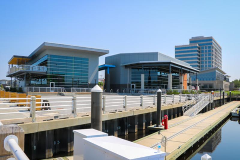 Restaurants at Port City Marina