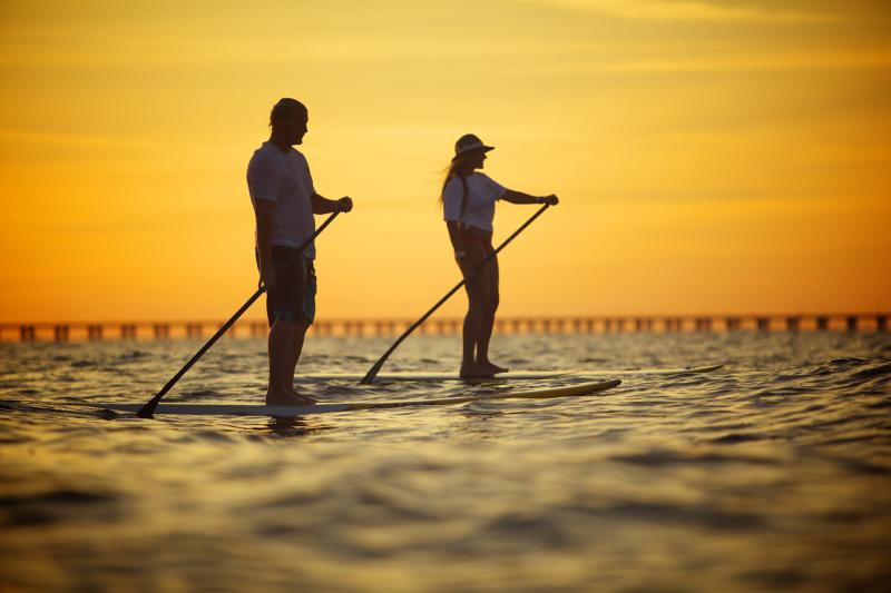 Standup Paddle Boarding Chesapeake Bay Virginia Beach