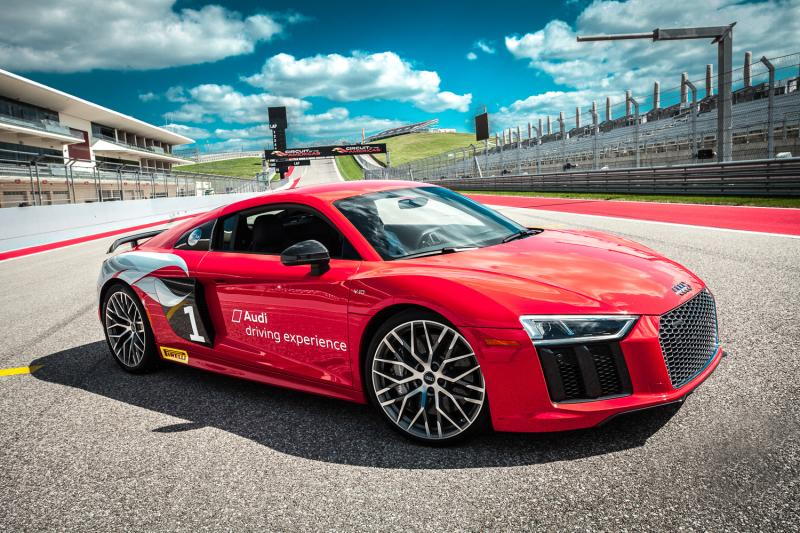Audi Driving Experience at COTA in austin texas