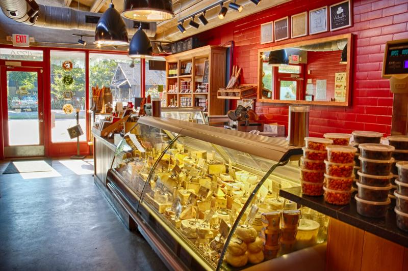 Antonelli's Cheese Shop Interior