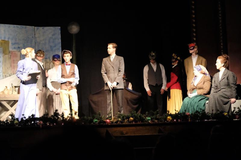 Actors at Opera House in Bastrop