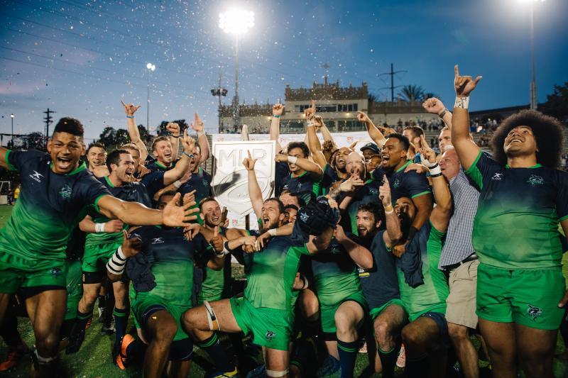 Seattle Seawolves Celebrate Championship