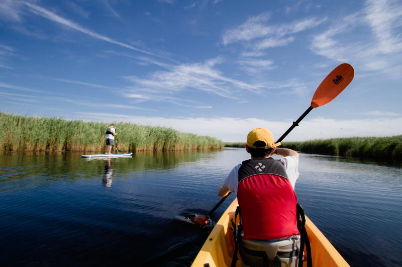 Kayaking and SUP on Virginia Beach's waterways
