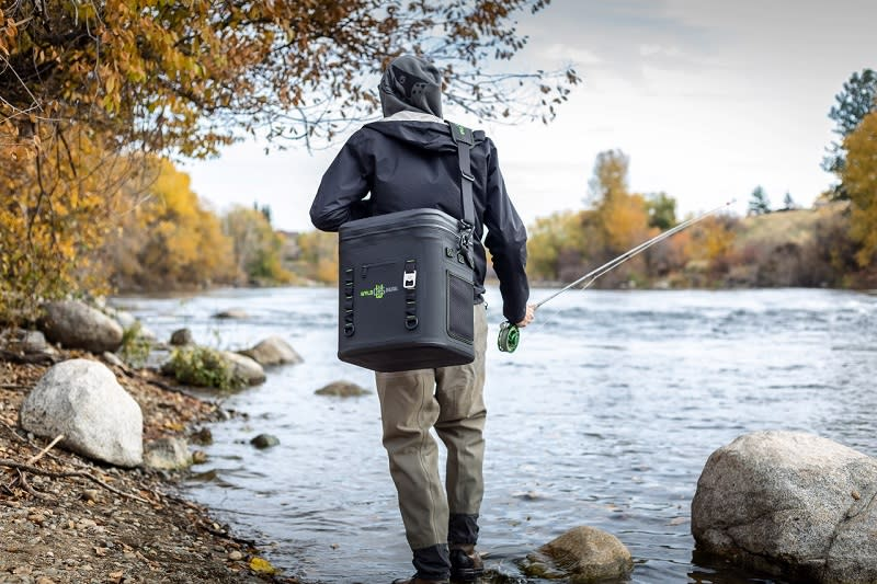 Man on shore with Wyld Gear