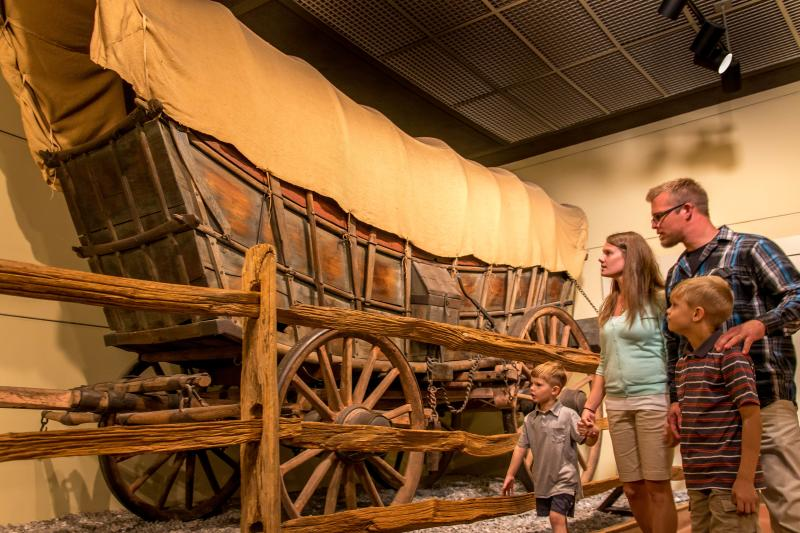 State Museum Covered Wagon