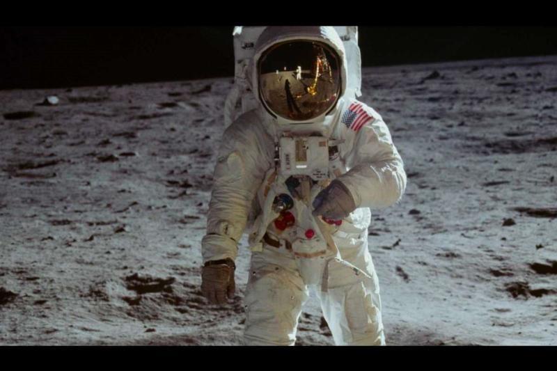 Astronaut Lunar Landing