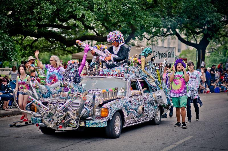 Electric Ladyland- Art Car Parade