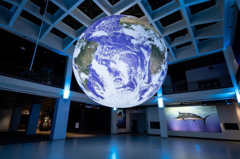 Gaia – Earth by Luke Jerram