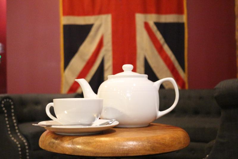 Tea at the Poppy
