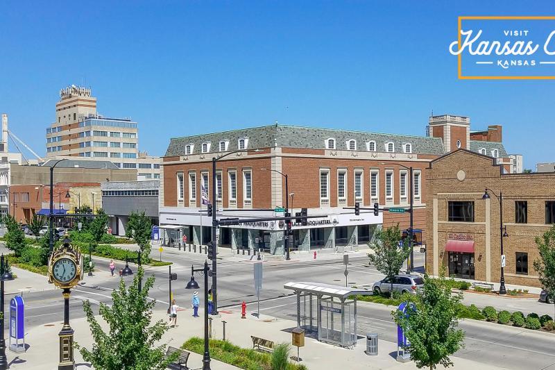 Downtown Kansas City, KS Virtual Background