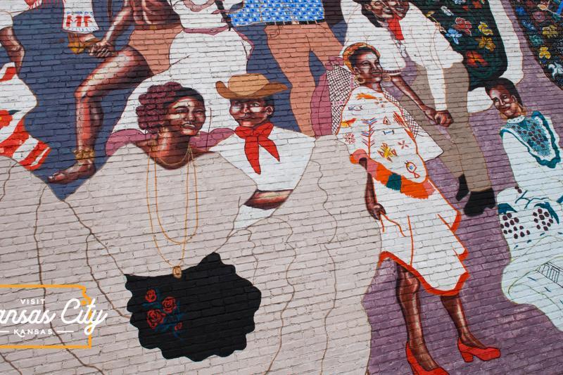 El Baile de la Vida Mural Virtual Background