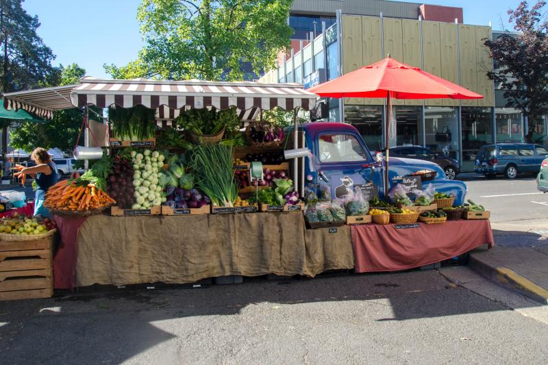 Organic Redneck Farm Stand by Katie McGuigan