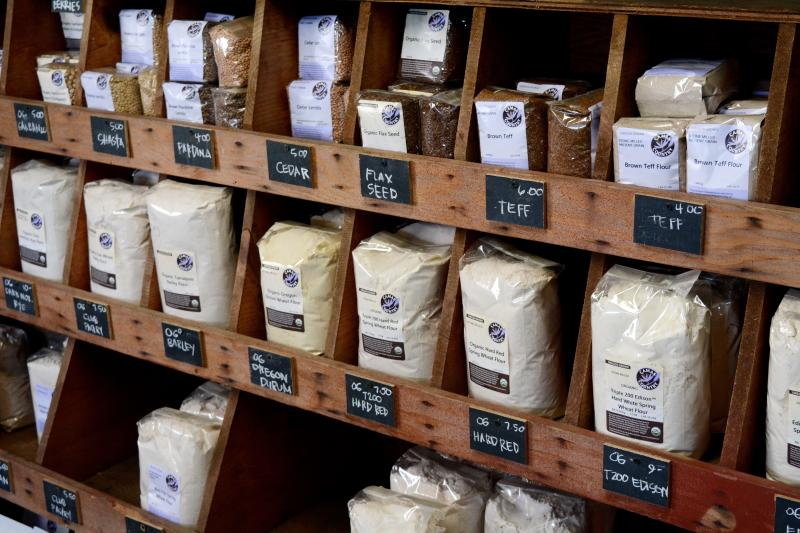 Camas Country Mill Flour in Junction City by Colin Morton