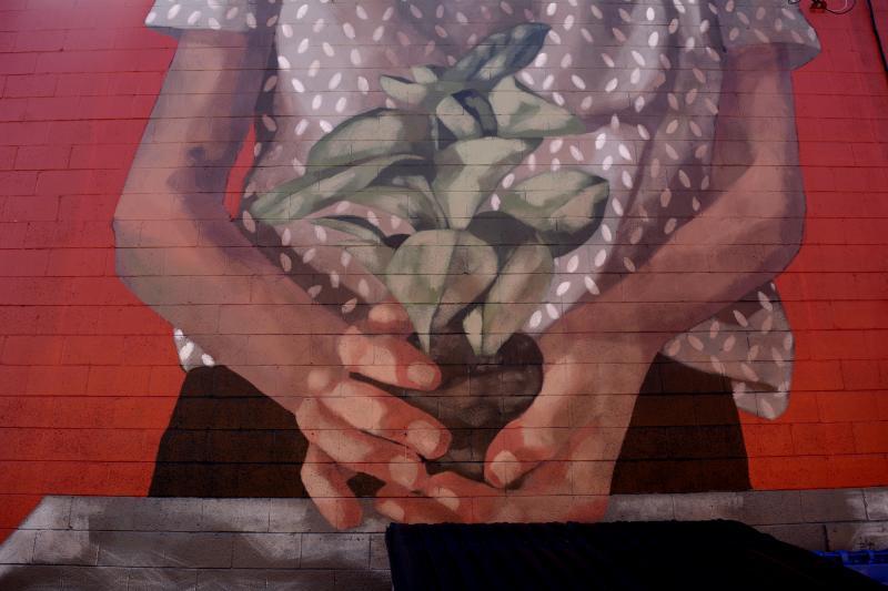 The Kiva Mural by Colin Morton
