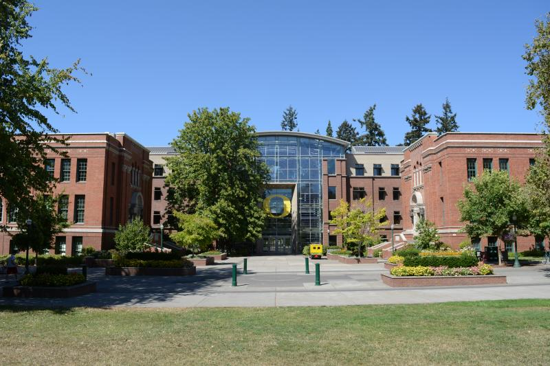 Lillis Business Complex at the University of Oregon by Collin Morton
