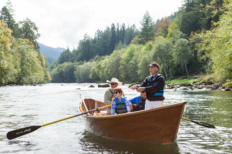 McKenzie River Drift Boat Fishing by Eugene, Cascades & Coast