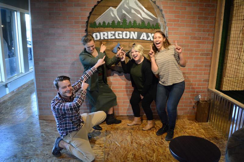 Oregon Axe by Colin Morton
