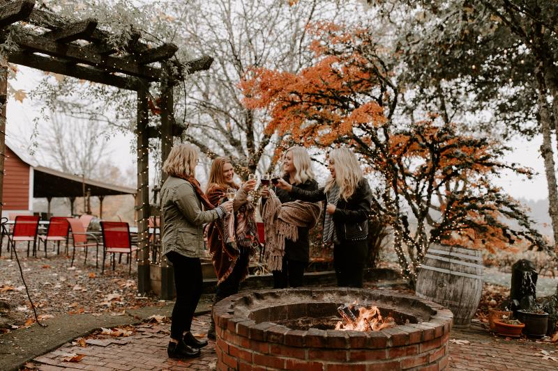 Autumn in Wine Country by Brittany Rossman