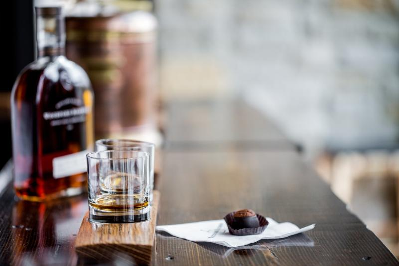 Woodford-Reserve-Tasting-Room-Shot-of-Bourbon-and-Bourbon-Ball-medium-blog