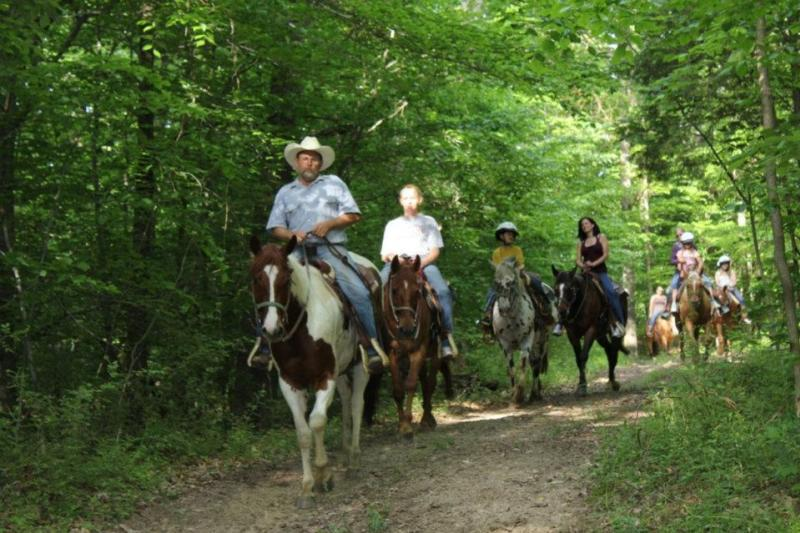 Grandpa Jeff's Trail Rides are a great way to spend quality time with family in a natural setting.