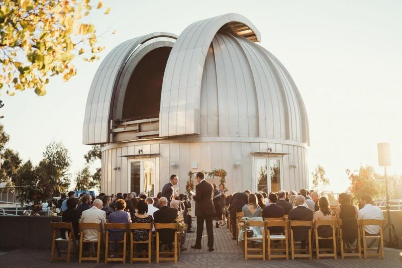 Chabot Space & Science Center wedding