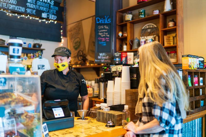 Tenino Coffee Bistro w Mask