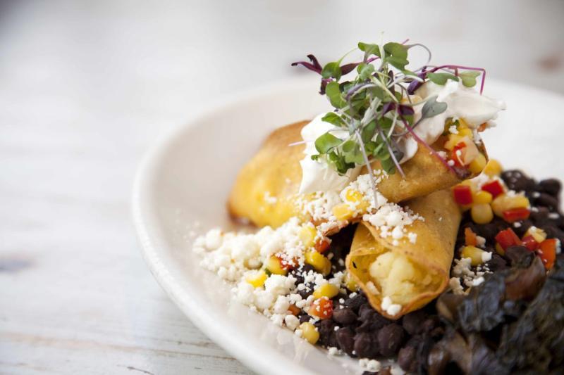 Oaxaco Tacos on plate