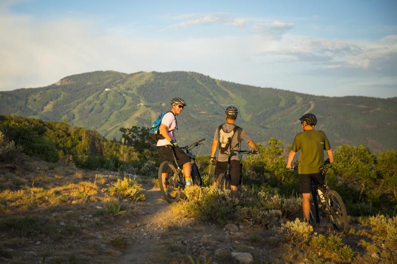 The variety of trails for all kinds of riders has earned Steamboat Springs, Colorado its reputation as Bike Town USA.