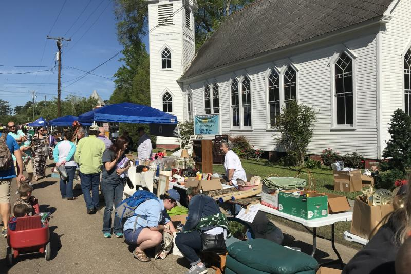 Abita Springs Whole Town Garage Sale