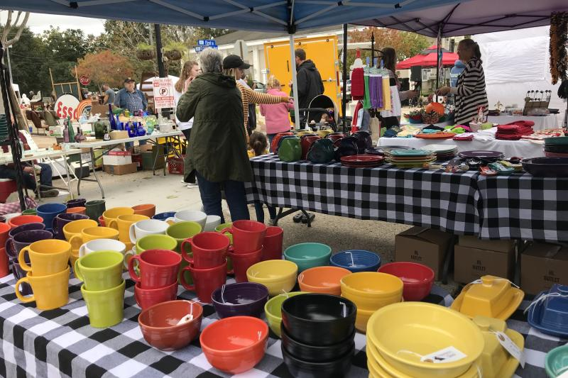 Slidell Antique Street Fair, Fall, shopping, Festival