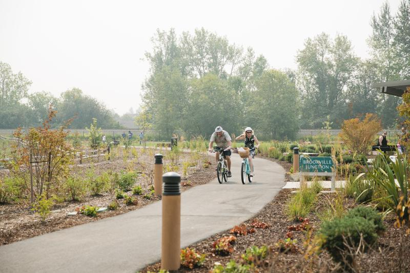Fife Bike Trail Brookville Gardens