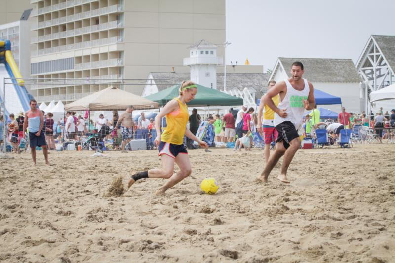 Virginia Beach Oceanfront Soccer