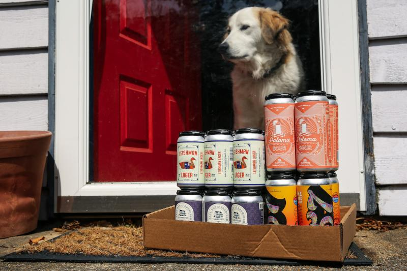 Farmhouse Brewing Delivery