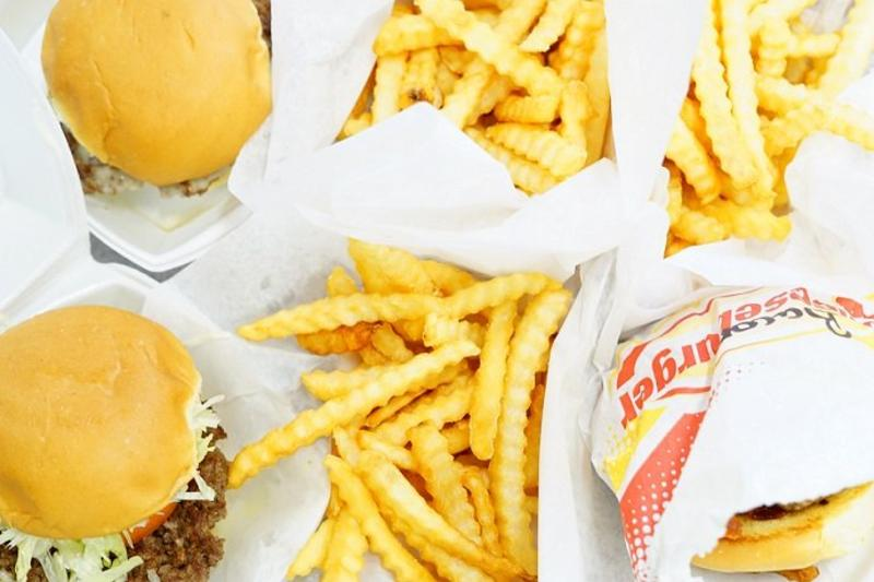 This classic drive-in offers families an experience, as well as a hot and fast meal. Juicy, homemade burgers, crinkle fries, shakes and more comprise the menu.