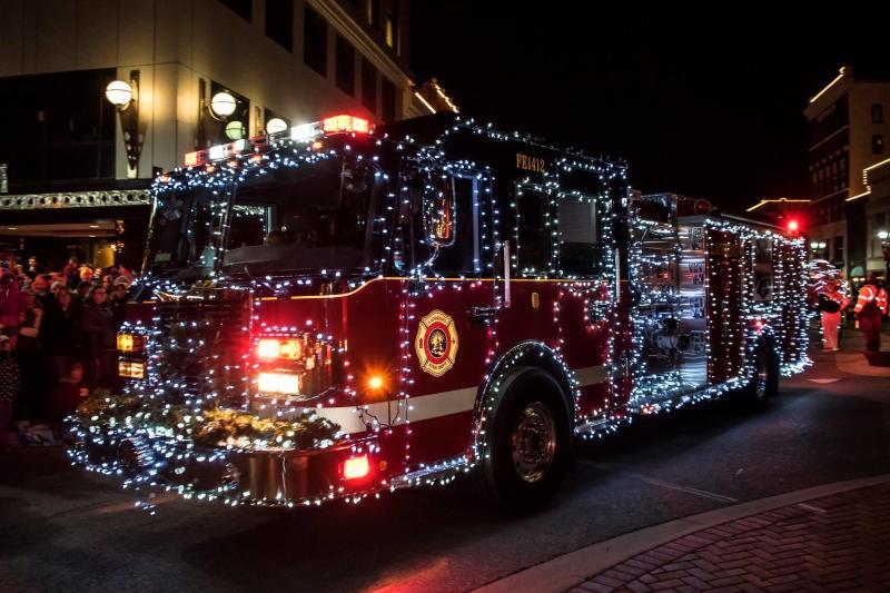 Silver Bells fire truck