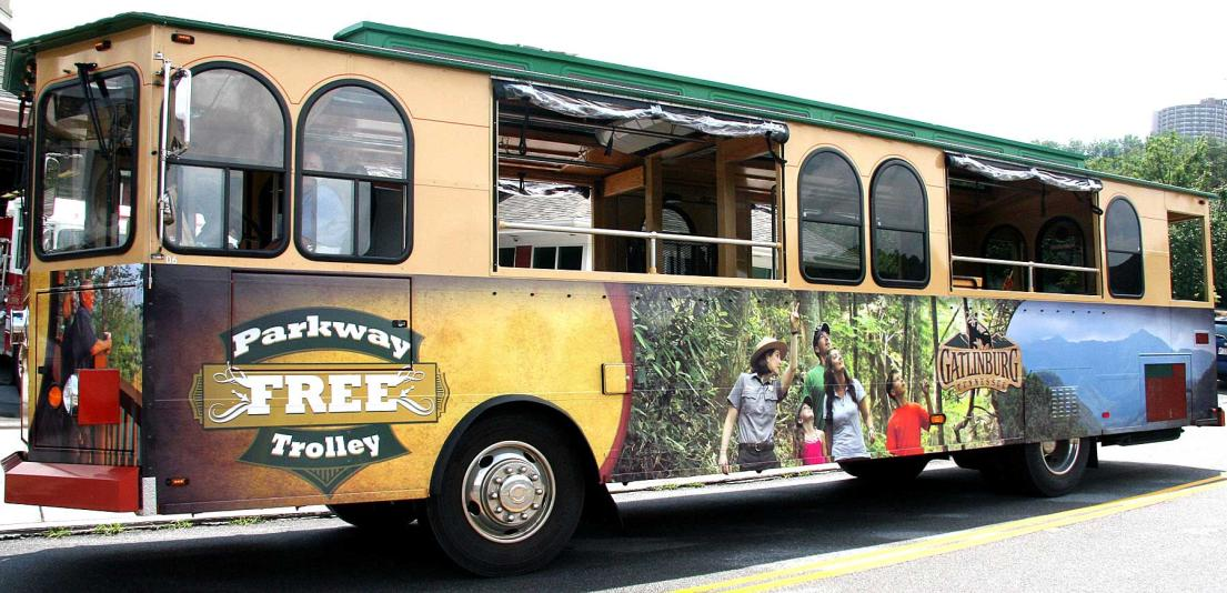 Gatlinburg Free Parkway Trolley