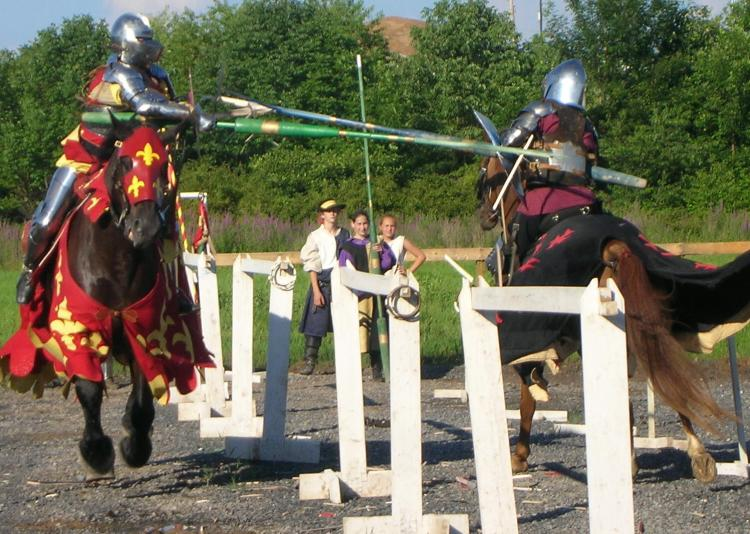 Enjoy an affordable, fun event for all ages at the Village Library Renaissance Faire in Wrightstown. See aerialists, jousters, firebreathers, working artisans and demonstrators, dancers, singers, musicians and free children's activities.